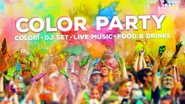 A Novara arriva il Color Party