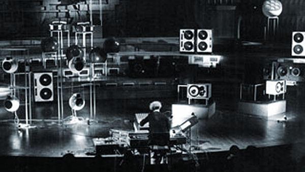 Laboratorio di spazializzazione del suono - saggio finale