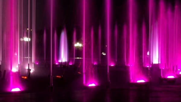 Sul Lago Maggiore tornano le Fontane Luminose: appuntamento a Ghiffa