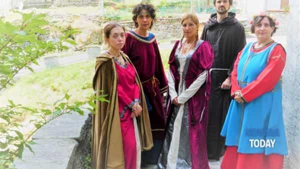 Un tesoro da riscoprire:  visita guidata con personaggi in costume d'epoca a San Nazzaro della Costa di Novara
