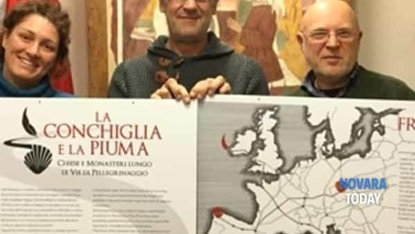"""""""la conchiglia e la piuma: vie di pellegrinaggio e sacri monti nei disegni di francesco corni""""-2"""