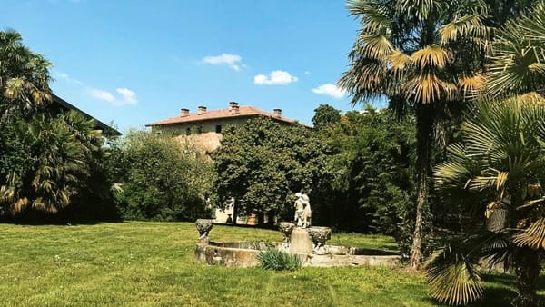 Villa Bono: visita guidata con brunch nel parco e concerto d'arpa