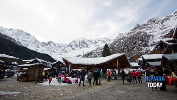 Macugnaga: mercatino di Carnevale