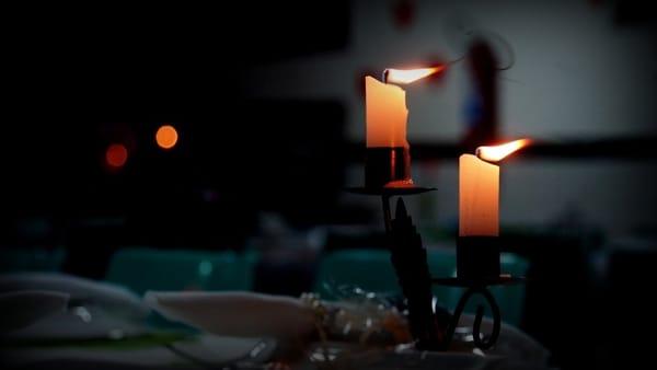 M'illumino di meno: cena slow a lume di candela a Cureggio