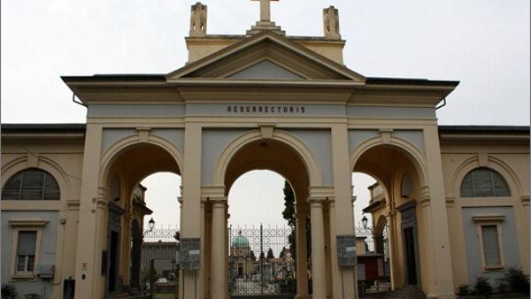 Visita guidata al cimitero urbano di Trecate