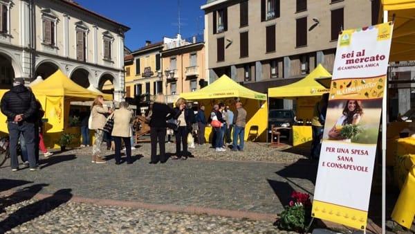 Ripartono i mercatini di Campagna Amica a Novara
