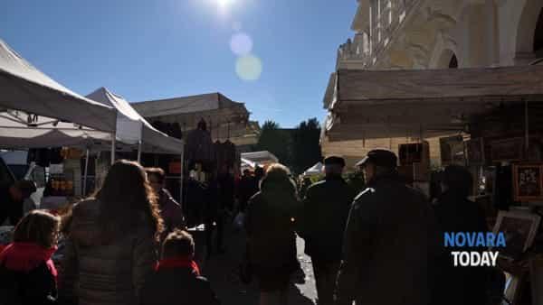 Novara, torna la Fiera di Novembre: bancarelle e strade chiuse in centro
