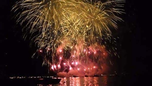 Festival dei fuochi d'artificio: il 3 agosto spettacolo piromusicale a Cannobio