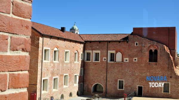 Risultati immagini per novara castello sforzesco visconteo