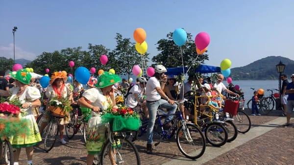 Ad Arona torna la Biciclettata in fiore