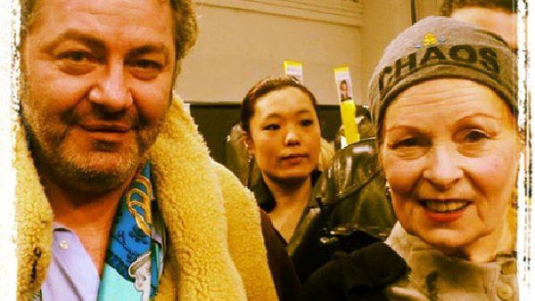 """Maison Clauds Morene"": MrsVivienne Westwood presta degli abiti per una sfilata esclusiva"