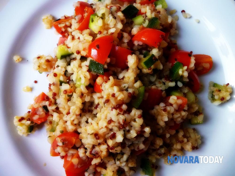 Ricetta Quinoa E Bulgur.Bulgur E Quinoa Con Pomodorini Zucchine E Basilico Blog