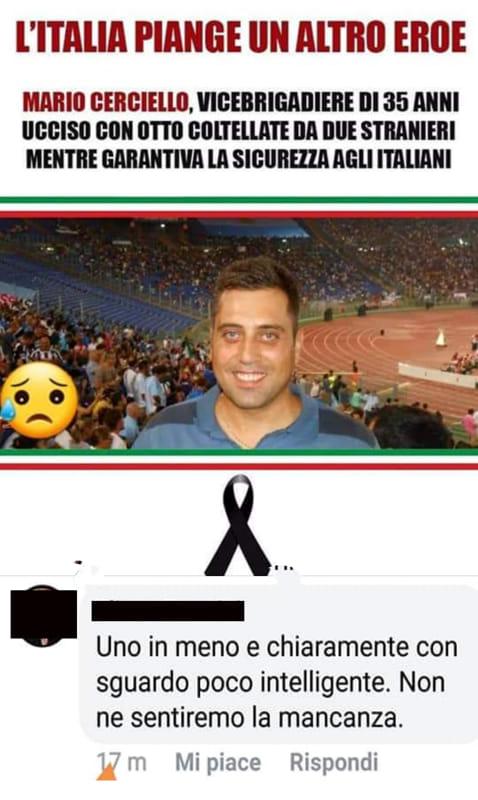carabiniere ucciso facebook-2