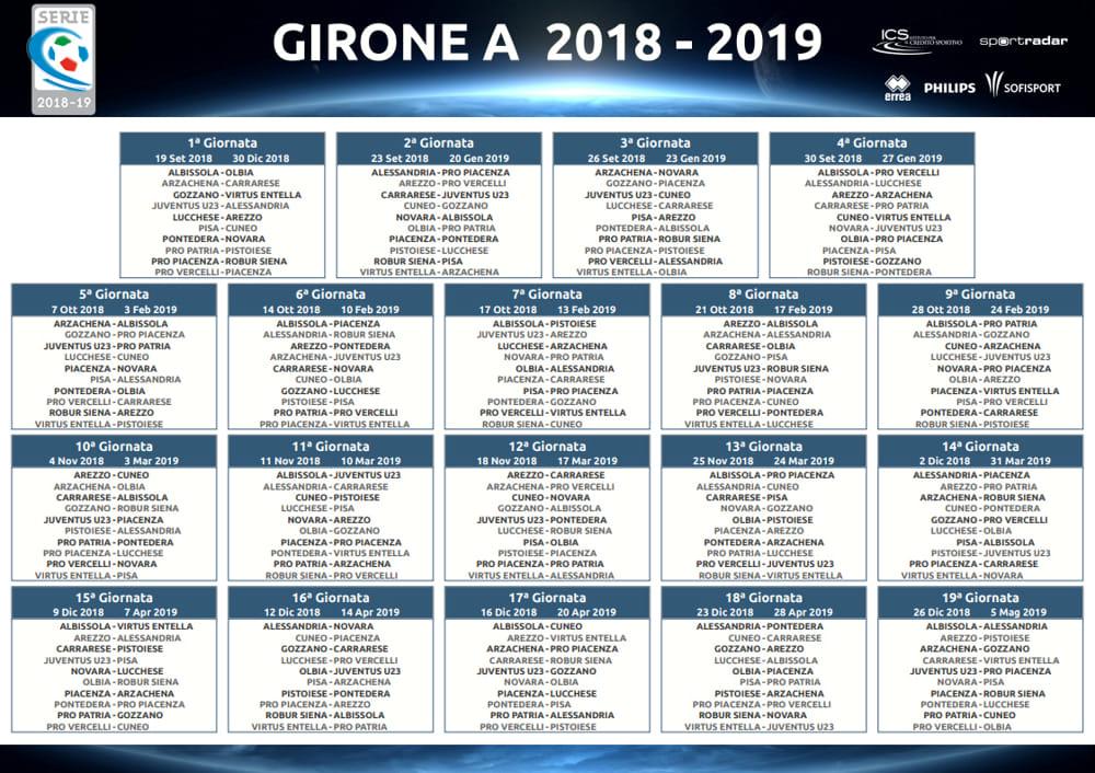 Partite Serie A Calendario.Novara In Serie C Dove Vedere Tutte Le Partite