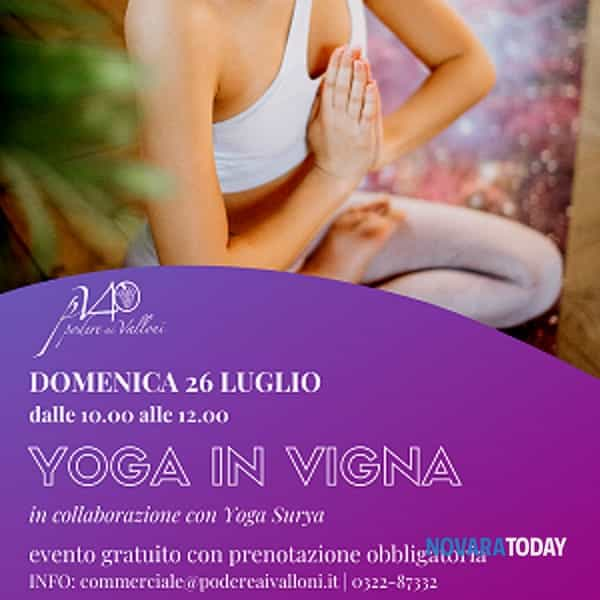 yoga in vigna
