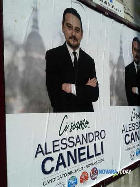 Alessandro Canelli candidato sindaco